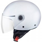 MT Helmets OF501 STREET SOLID A0 GLOSS PEARL WHITE